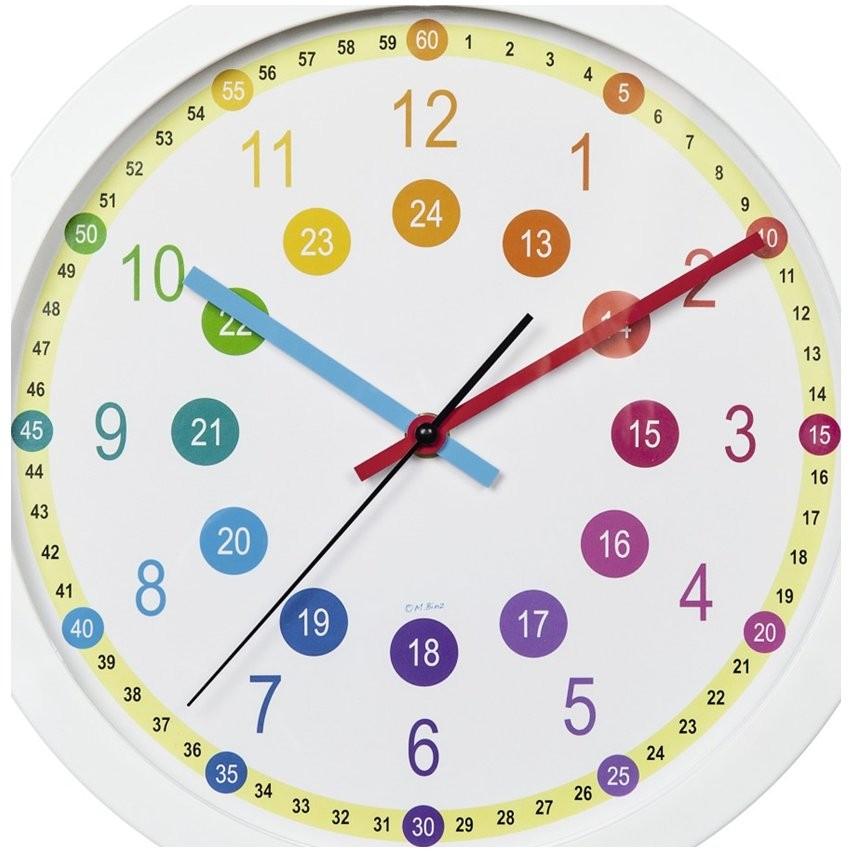 gyermek fali órák 29 cm