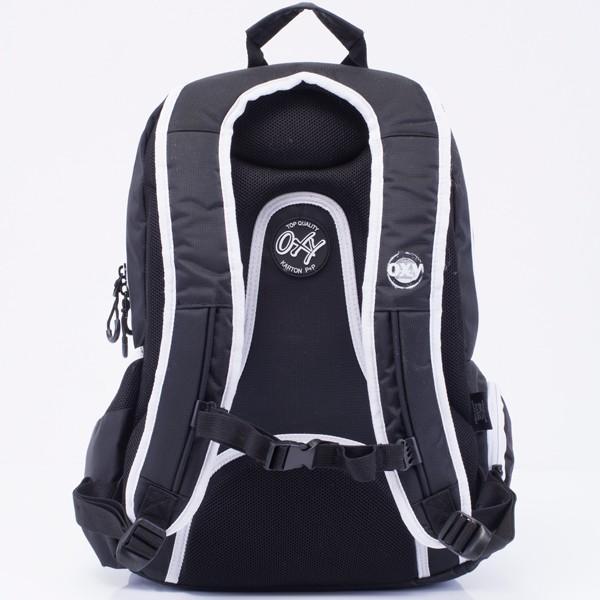 d9158ec5526f Iskola hátizsák OXY Sport Black & White fekete fehér felsősöknek ...