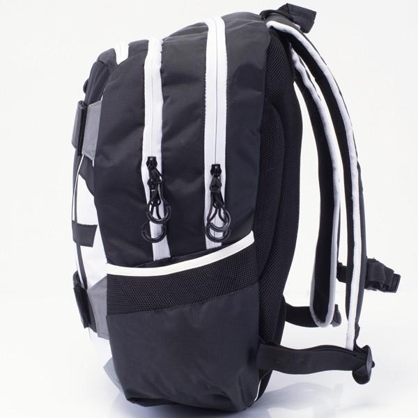 1e6e774cd4c2 ... Iskola hátizsák OXY Sport Black & White fekete fehér felsősöknek ...