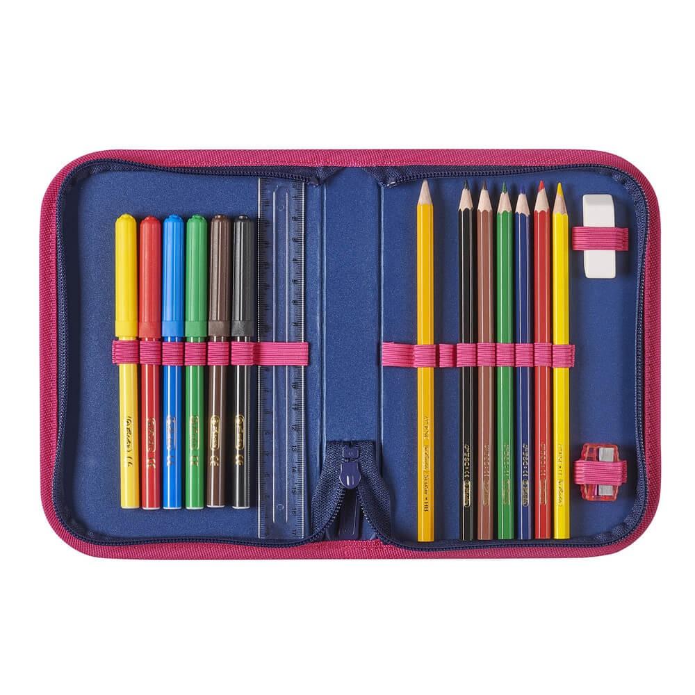 fa28b1d22833 ... Herlitz Loop iskolatáska Korona 4 darabos szett + olló és szállítás  ingyen ...