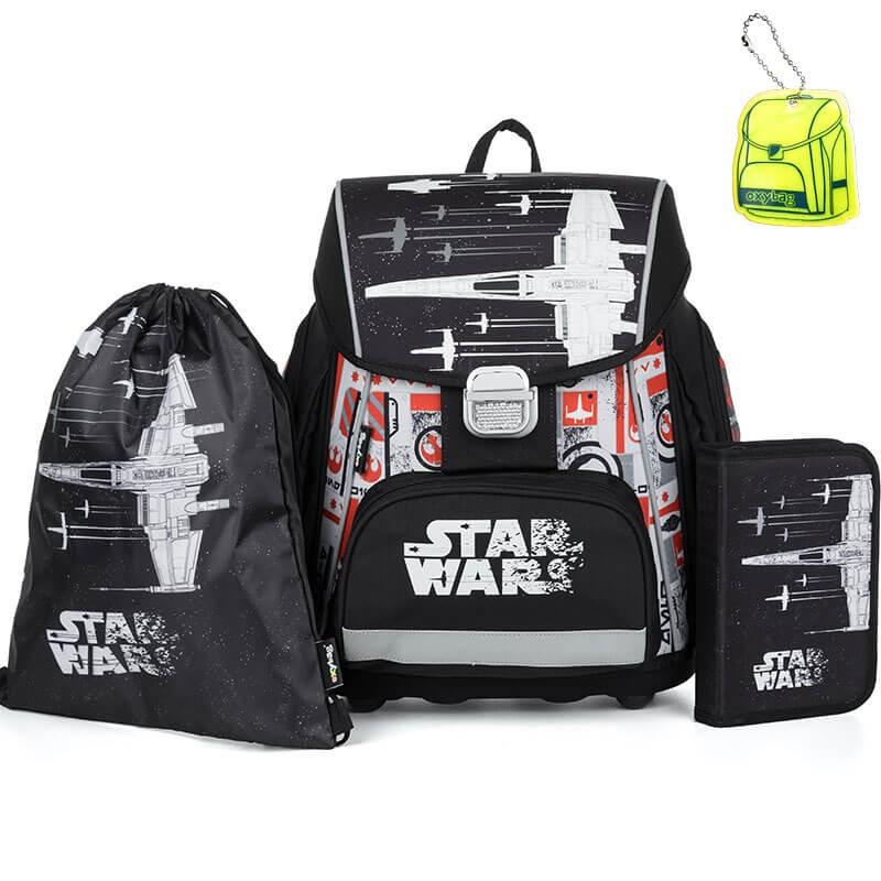 694f6106251e Premium Star Wars iskolatáska SZETT + fényvisszaverő függő és szállítás  ingyén