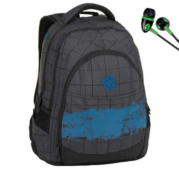 Diák hátizsák Bagmaster DIGITAL 8 D + fülhallgató és szállítás ingyen c21cd7491a