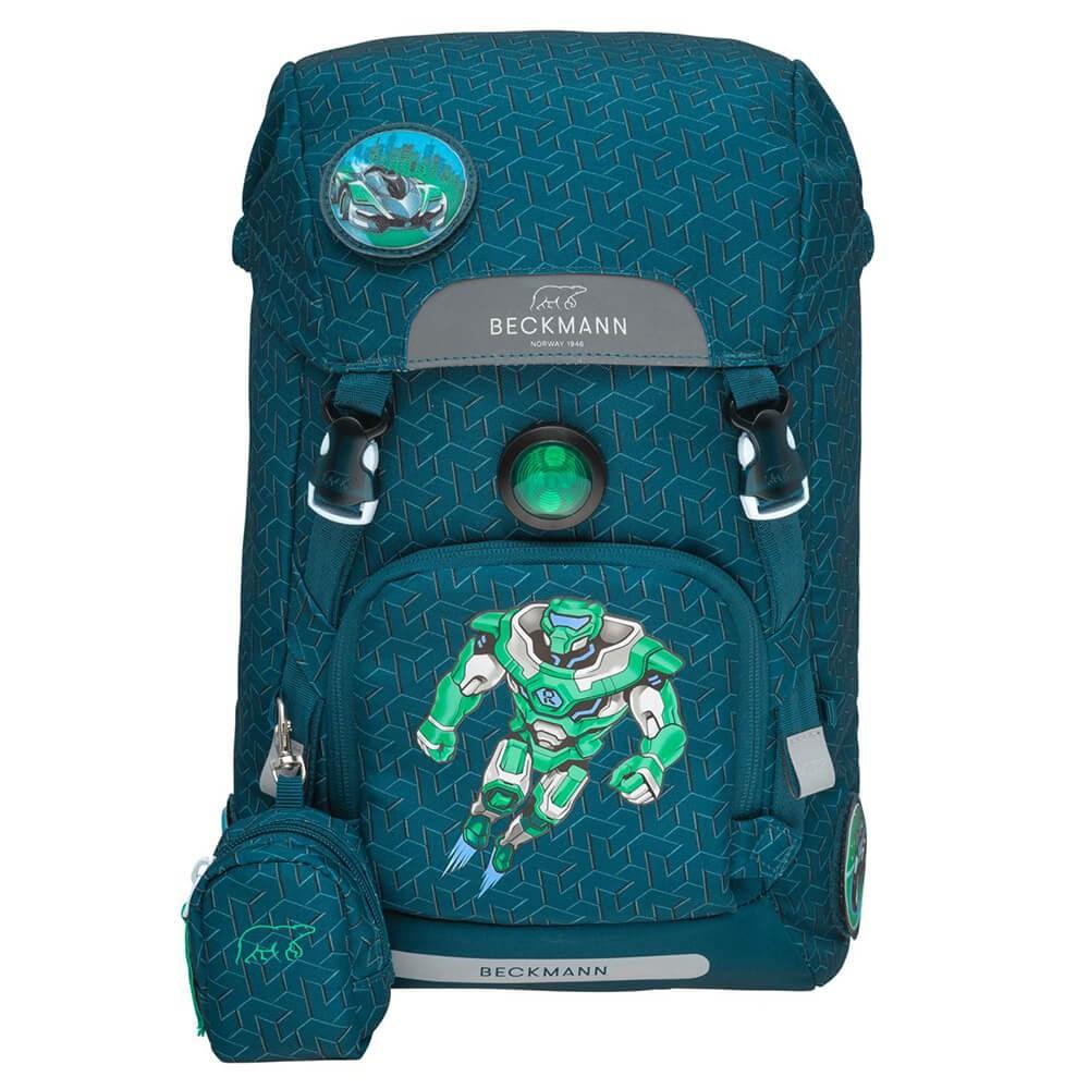 Beckmann Roboman iskolai hátizsák és ingyenes szállítás