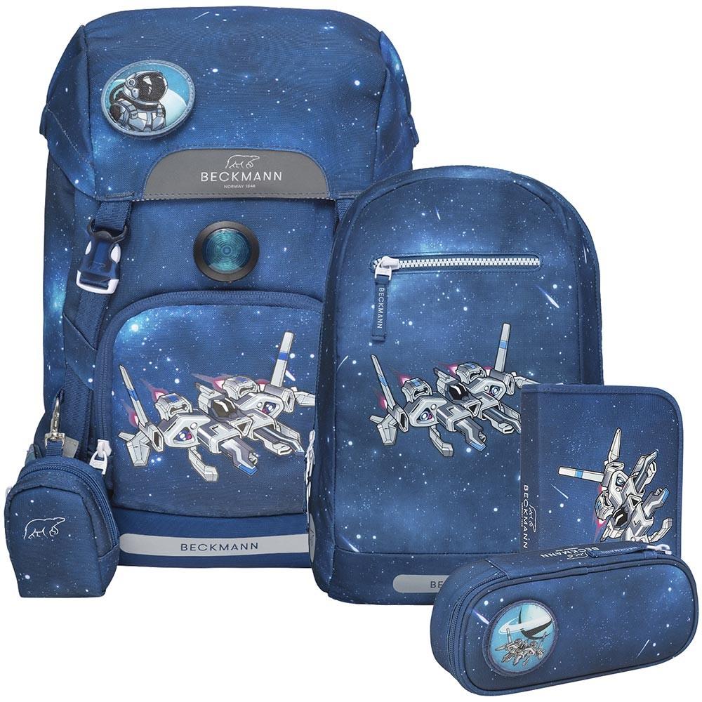 Beckmann Spaceship 4 részes iskolai hátizsák szett és ingyenes szállítás