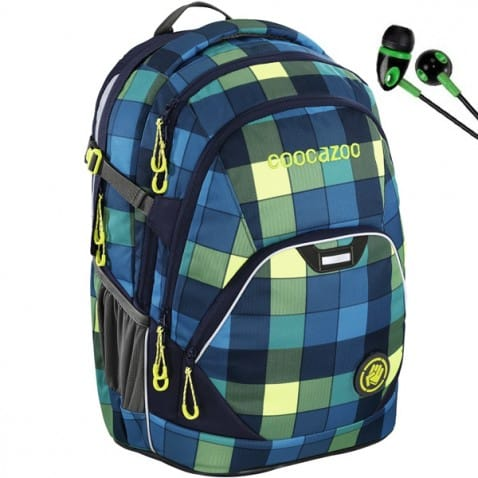 Hátizsák Coocazoo EvverClevver, 2 Backpack, Lime District
