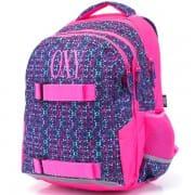 Iskola hátizsák OXY One Molekuls rózsaszín mintás lányoknak felsősöknek 148564edc0