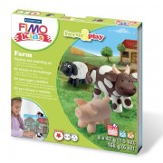 Fimo kids Create & Play Farm
