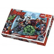 Puzzle Avengers, 100 darabos