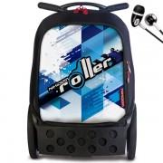 Nikidom Roller XL Aloha gurulós iskolatáska | iskola vilag.hu