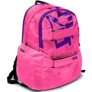 88cd14117fd9 Iskolai hátizsák NEON felsősoknak és diákoknak rózsaszín lila